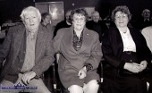 At an Over 55 Social Club gathering hosted by Knocknagoshel Women's Group at the local community centre in 1998 were: Paddy and Cáit Cotter and Cait's sister Julie O'Carroll. ©Photograph: John Reidy 25-3-1998