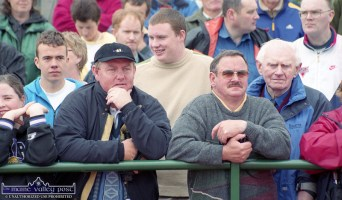 Faces in the crowd at the official opening of the club facilities at An Ríocht AC in June 2000. ©Photograph: John Reidy