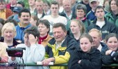 Lots of local and visiting faces at the official opening of the club facilities on June 11- 2000. ©Photograph: John Reidy