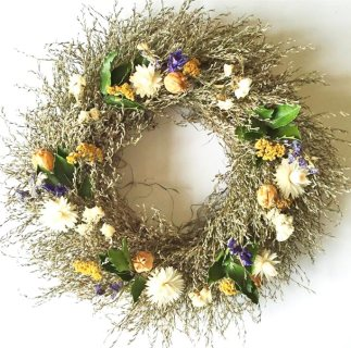 Sea Lavender Wreath (3)
