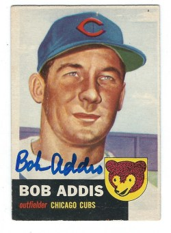 Autographed 1953 Topps Cards