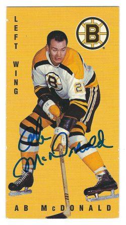 Autographed Parkhurst Hockey Reprint Cards