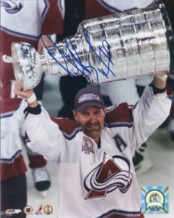 Autographed Avalanche Photos