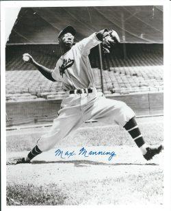 Autographed Negro League Photos