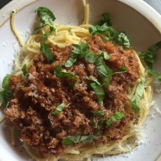Spaghetti Bolognese Mainlyfood