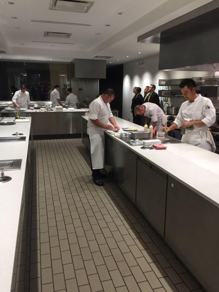 The kitchen at Grace