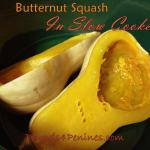 butternut squash in slow cooker