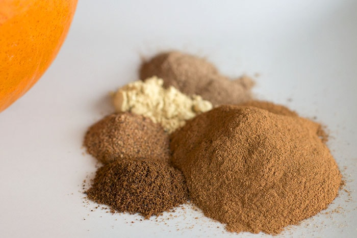 Homemade Pumpkin pie spice pumpkin