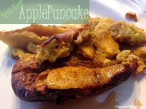 The Best Apple Pancake Recipe {Apple Surprise}