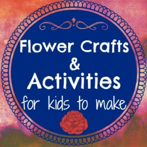 Flower Crafts and Activities for Kids to Make {Linky Party}