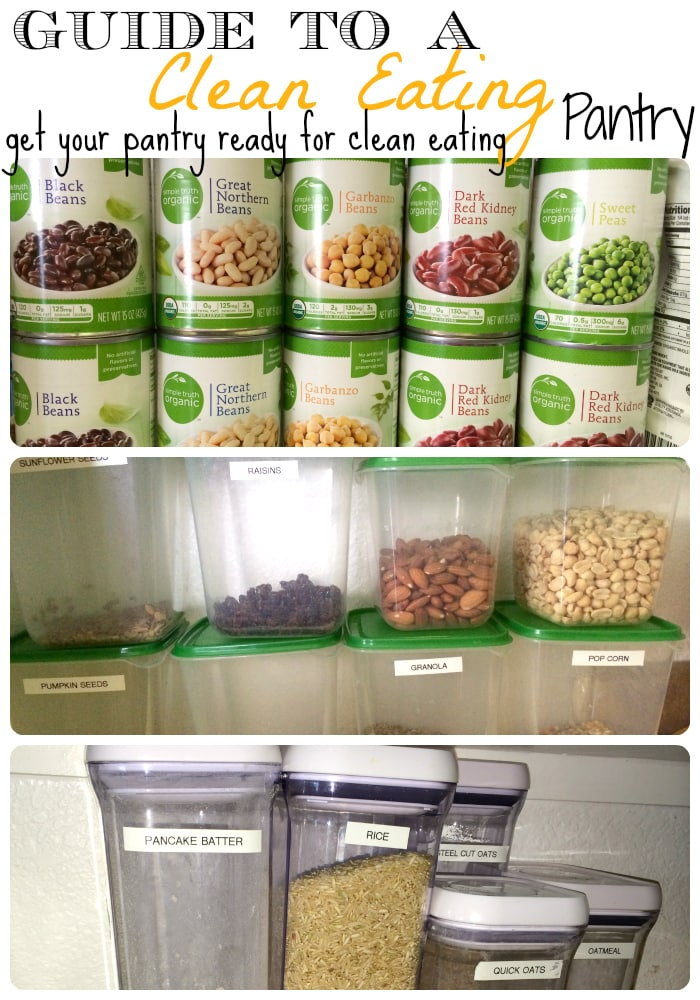Clean Eating Pantry