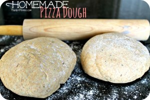Homemade Pizza Dough Using a Bread Machine