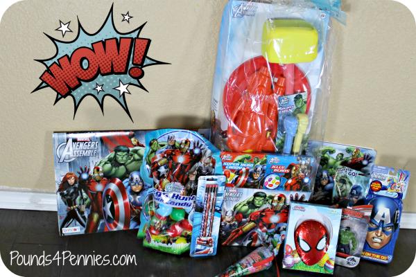 Disney Marvel Easter Basket Fillers