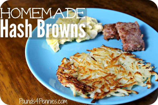 How to make homemade hash browns recipe