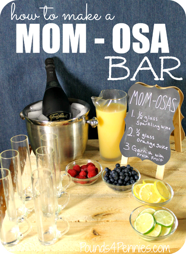 how to make a mimosa Bar