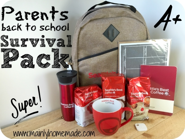 Back to School Survival Guide for Parents Prize Pack