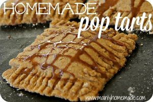 Buttery Homemade Pear Pop Tarts recipe
