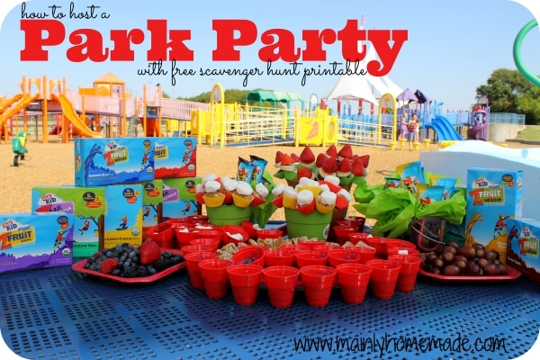 How to Host a Park outdoor Party