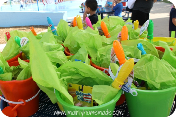 Outdoor Party in the Park Goody bags