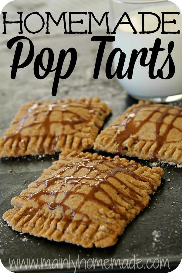 Pear Homemade Pop Tarts Recipe