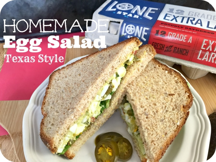 Texas Style Homemade Egg Salad Recipe