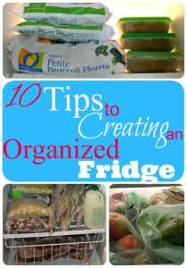 10 Tips to Creating an Organized Fridge That Works (Day 9)