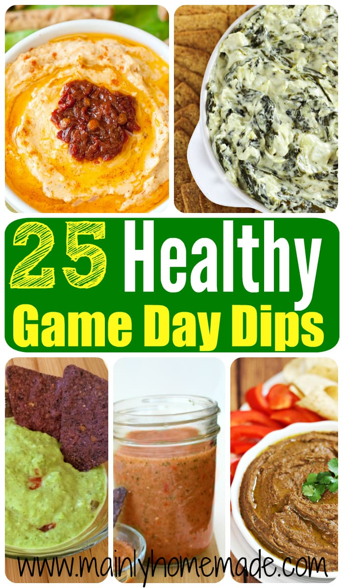25 Healthy Party Dips