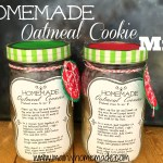 Homemade Oatmeal cookie mix recipe gift idea