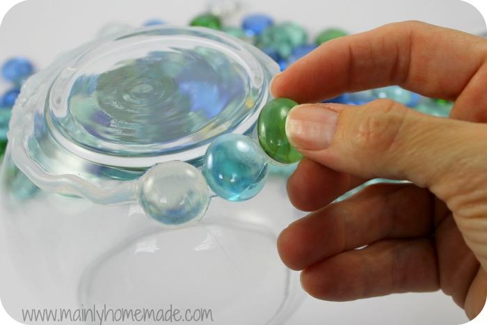 glueing glass on to solar garden globe light