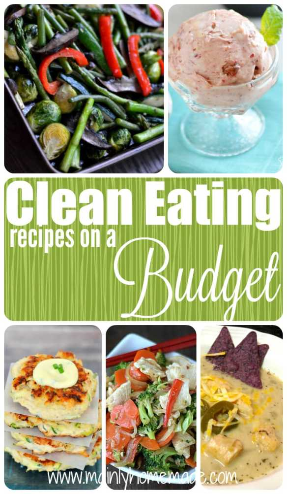 Clean Eating Recipes on a Budget