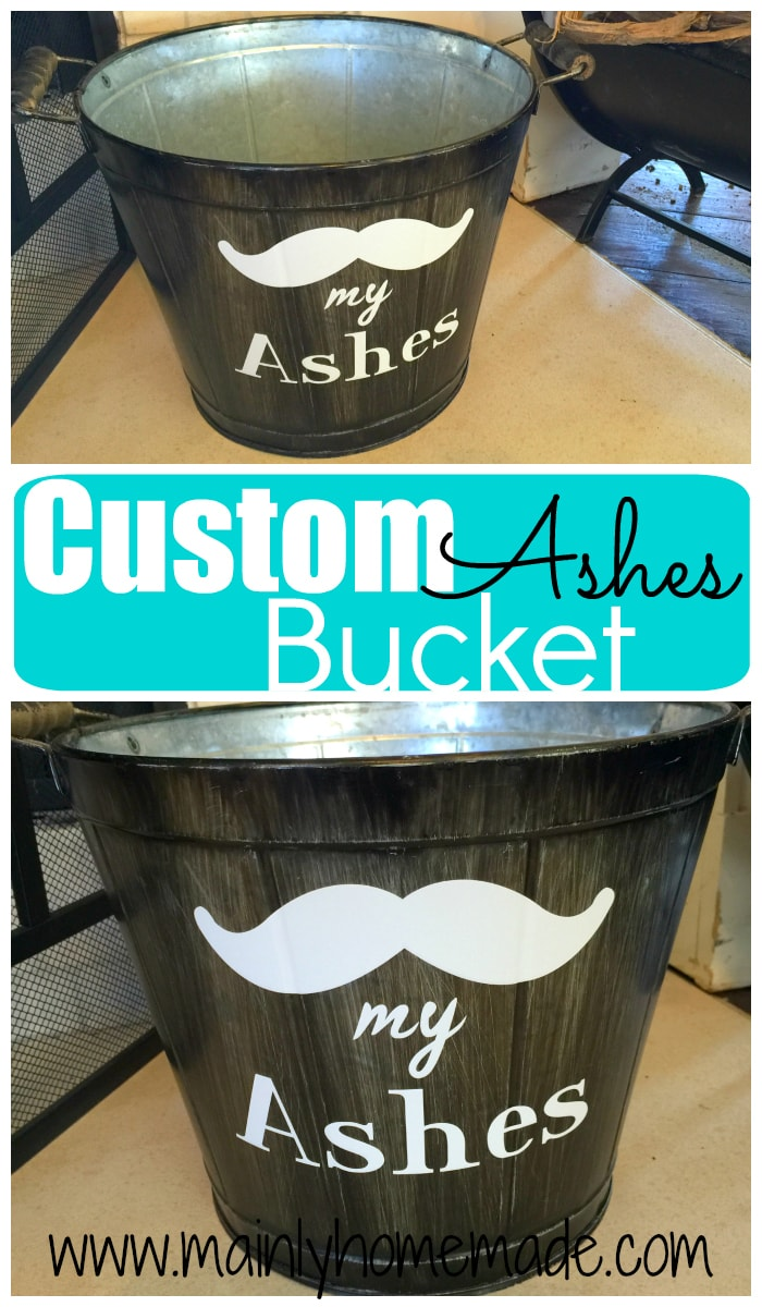 Customized Ash Bucket for the Fireplace