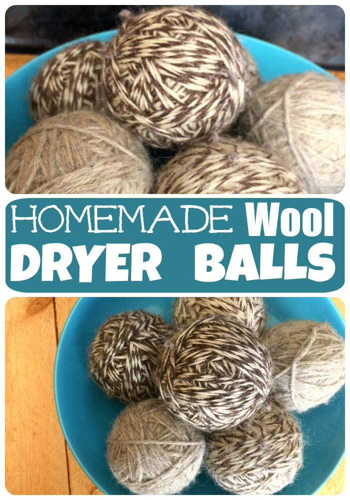 Homemade Wool Dryer Balls Pic