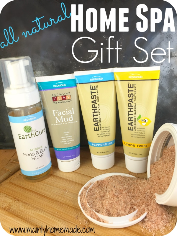 all natural beauty care items Gift Set Giveaway