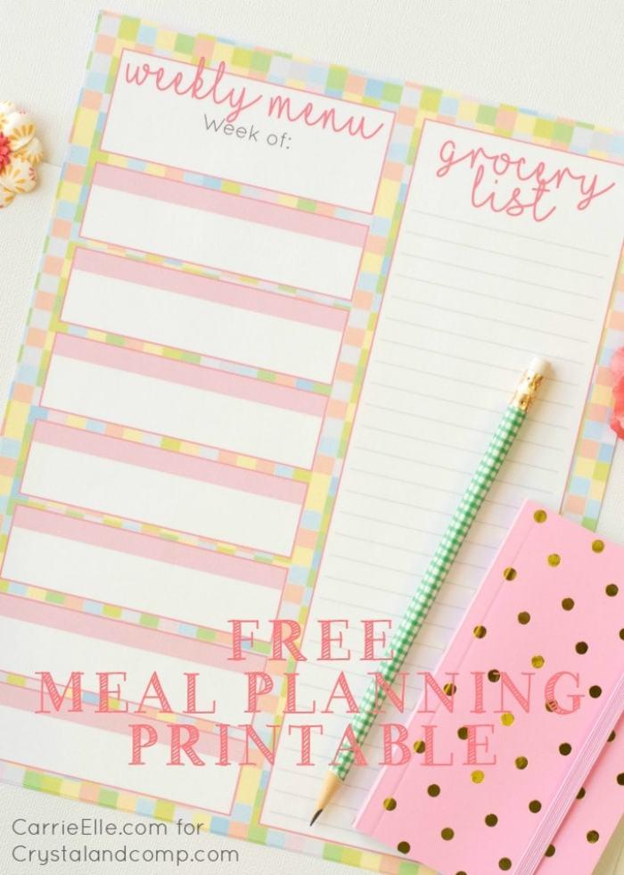 Free-Spring-Meal-Planning-Printable