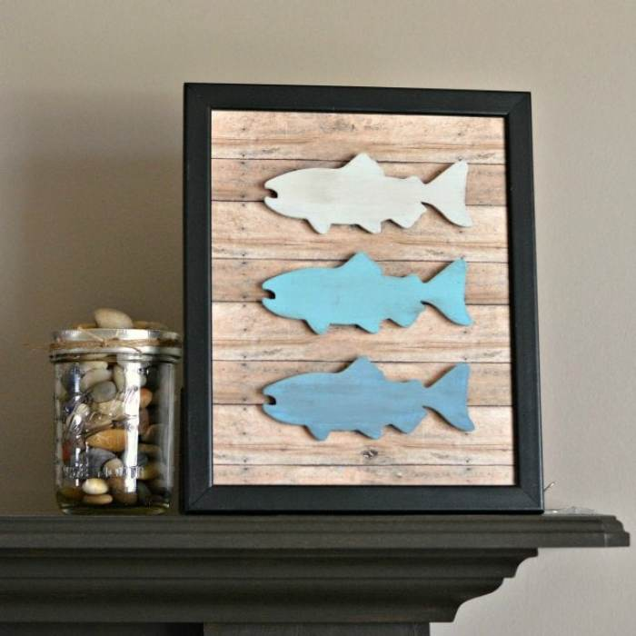 DIY-Rustic-Fish-Frame- for dad