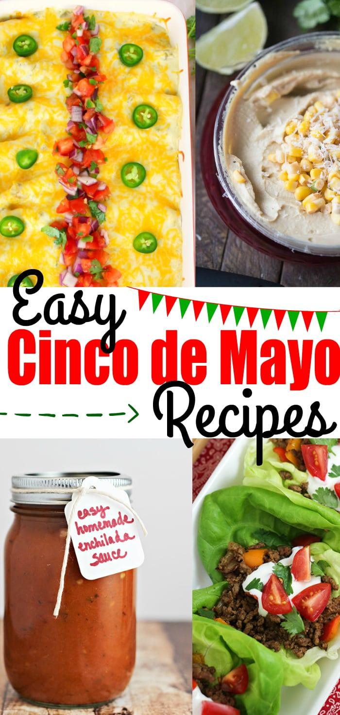 Easy Cinco de Mayo Recipes you can make