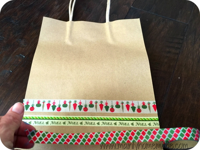Washi Tape Homemade wrapping paper ideas
