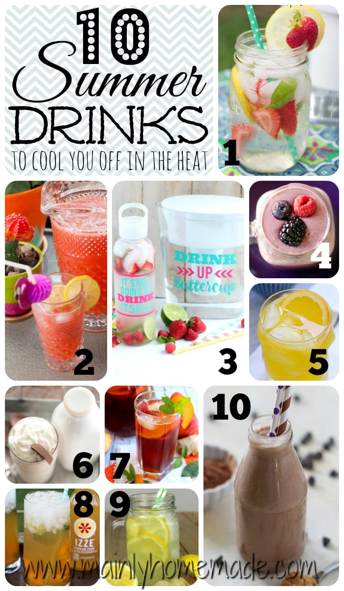 10 Must Try Summer Drinks