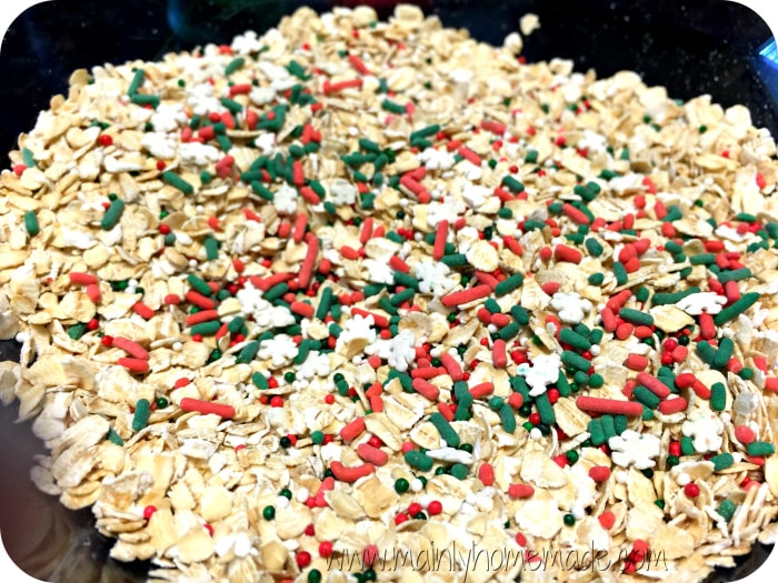 Reindeer Food Mix recipe