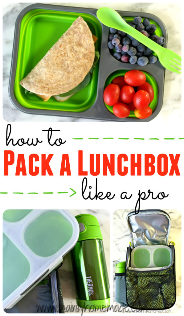How to pack a school lunchbox