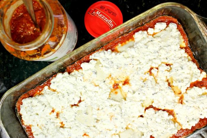 Ravioli Bake Recipe Cheese Layer