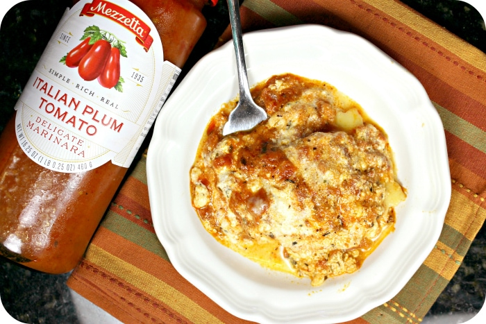 Ravioli Bake recipe meal