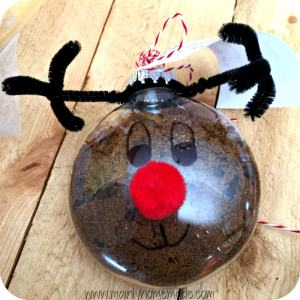 mulling spices reindeer ornament