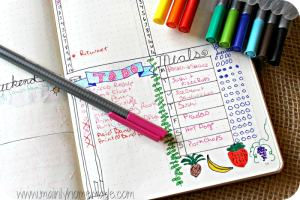 How To Use Your Bullet Journal to Meal Plan Like a Pro