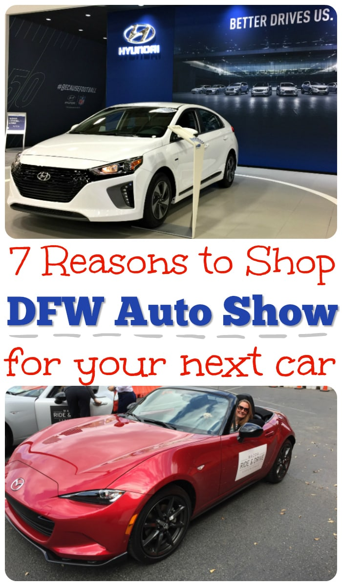 DFW Auto Show next car purchase