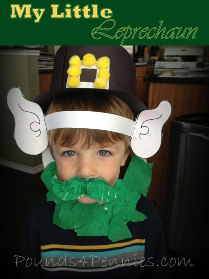 St. Patricks Day Craft Leprechaun Hat
