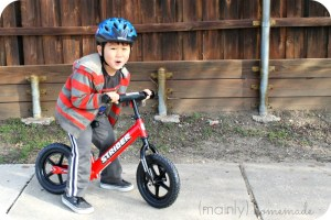 Learning to Ride a Bike Excited