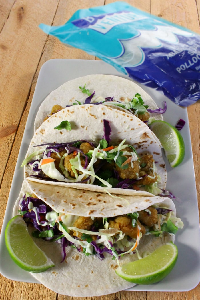 The best fish tacos recipe with wasabi garlic lime sauce for Fish burrito recipe