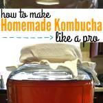 How to Make Homemade Kombucha like a pro