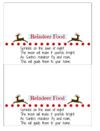 Reindeer food small